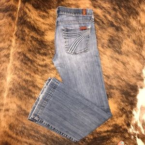 7 For All Mankind dojo jeans sz 26